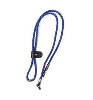 ADJUSTABLE LENGTH GLASS CODE 3 / Dark Blue & Blue / Black Leather