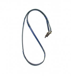 TWISTED LEATHER SOFT BRACECODE / Blue