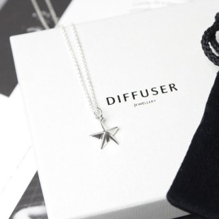 ASTERISK PENDANT TOP NECKLACE (Normal chain 50cm)
