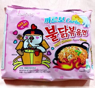 インスタント カルボブルダック炒め麺