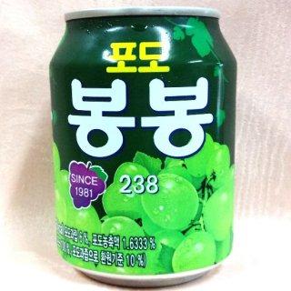 韓国ジュース ぶどうボンボンジュース