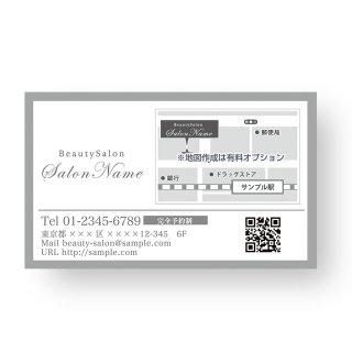 【 裏面オプション 】(名刺・ショップカード用)-店舗情報カードA