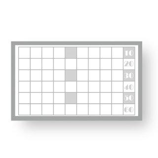 【 裏面オプション 】(名刺・ショップカード用)-シンプル60マススタンプカード