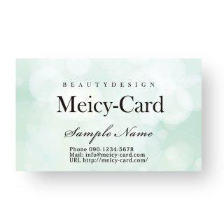 【 可愛い名刺 】 サロン名刺・スタンプカードに|美容サロン向け!綺麗な上品デザイン04