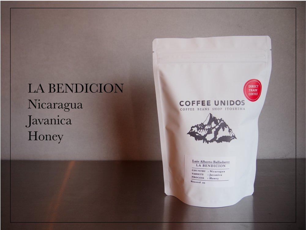 【コーヒー豆・中煎り】ラ・ベンディション農園 ジャバニカ種 ハニー