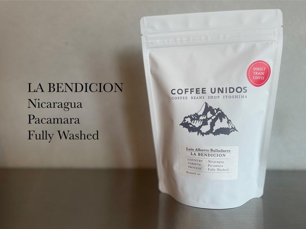 【コーヒー豆・中煎り】ラ・ベンディション農園 パカマラ種 フリーウォッシュ