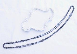 1880  ヴィクトリアン<br>アイアンロングネックレス