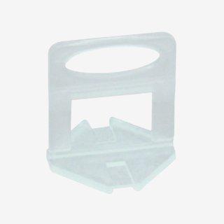 タイルクリップ スペーサークリップ 1mm(100個入り)