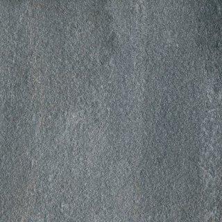 20mm ノンスリップ セラミックタイル 砂岩調ブラック黒   597角 20mm厚