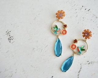 Spring Garden drop pierced