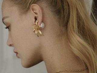 【S925】Lily  pierced