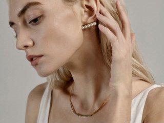 Design pearl pierced