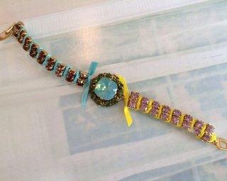 Jewelry missanga-yellow brown-