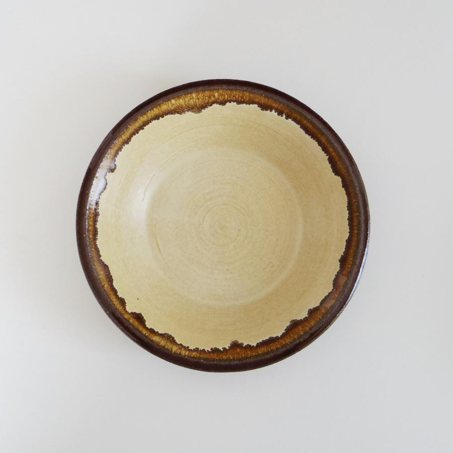 廣川温 耐熱深皿 6寸