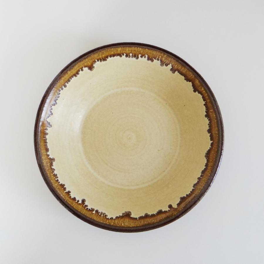 廣川温 耐熱深皿 7寸