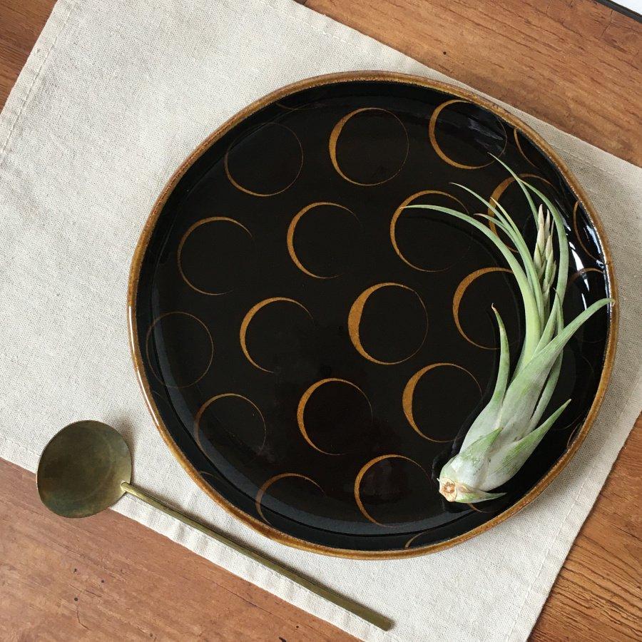 芦澤和洋 丸皿 a