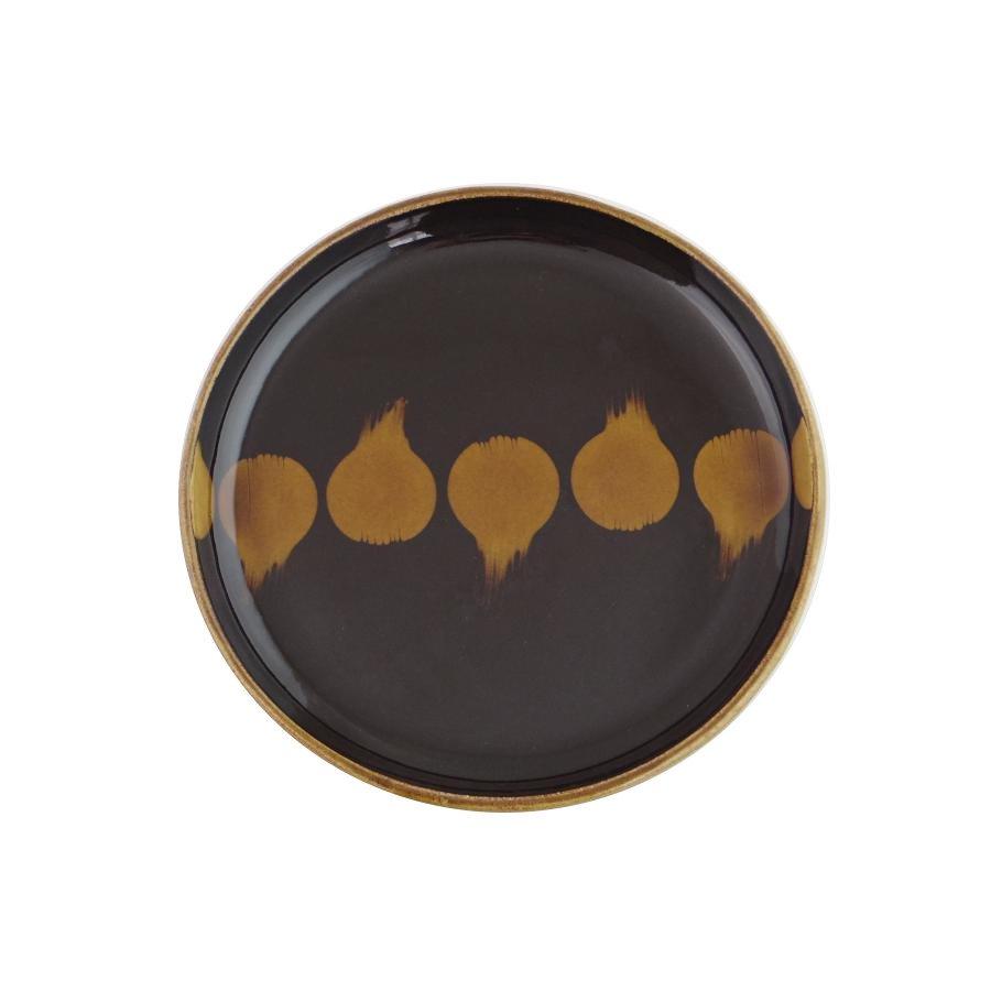 芦澤和洋 丸皿 b