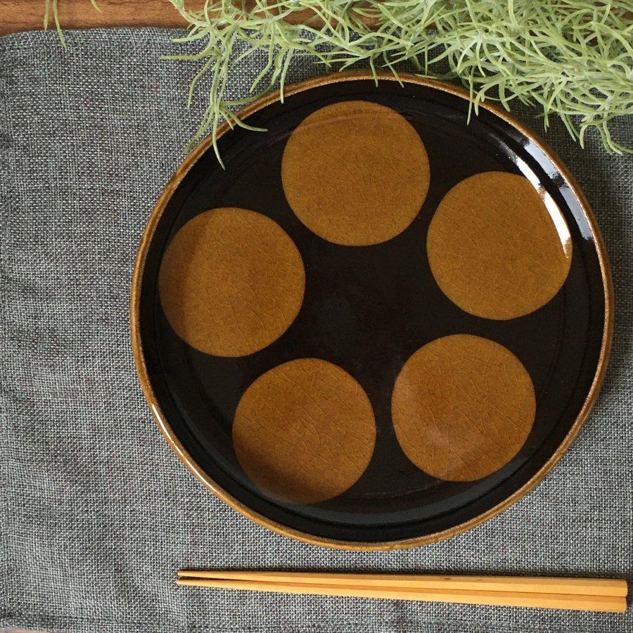 芦澤和洋 丸皿 d
