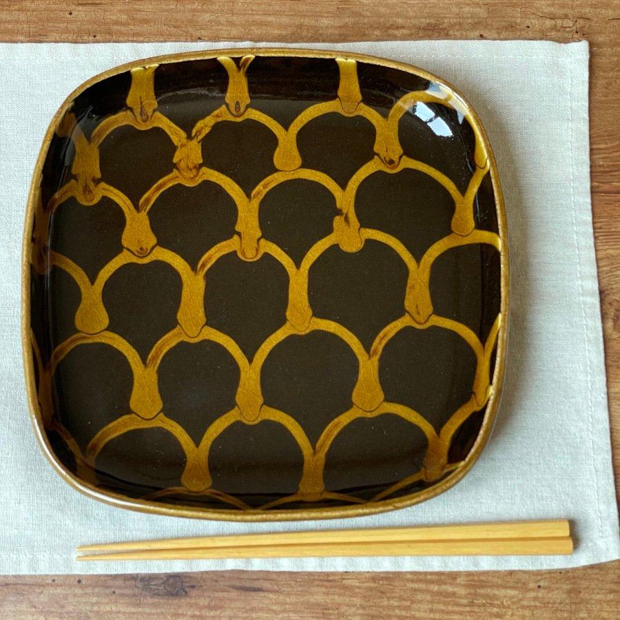 芦澤和洋 角皿 2