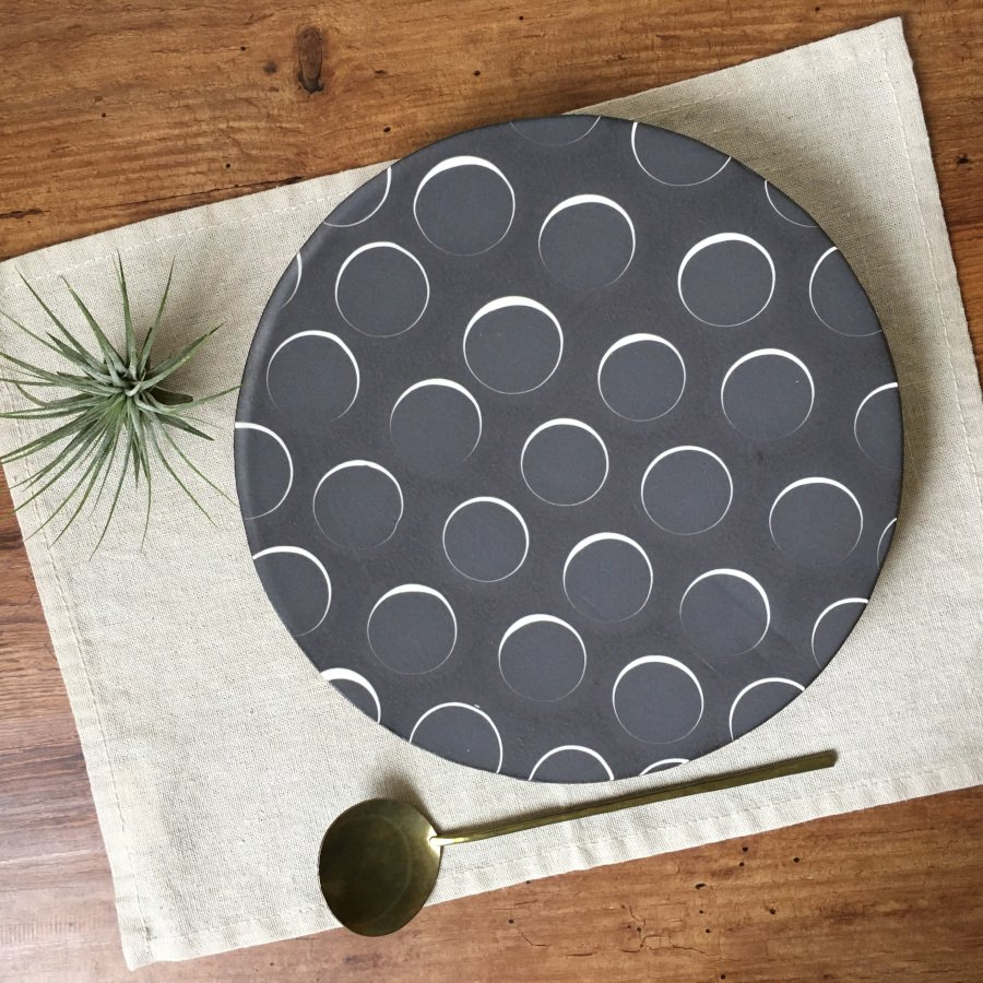 芦澤和洋 丸板皿 1