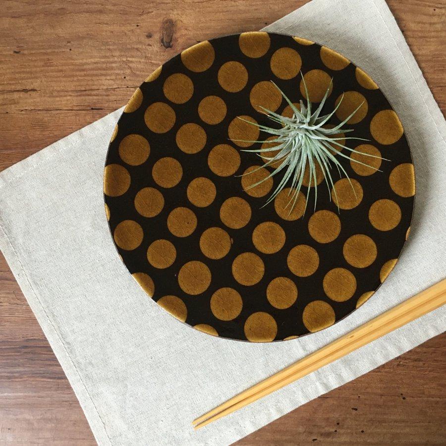 芦澤和洋 丸板皿 2