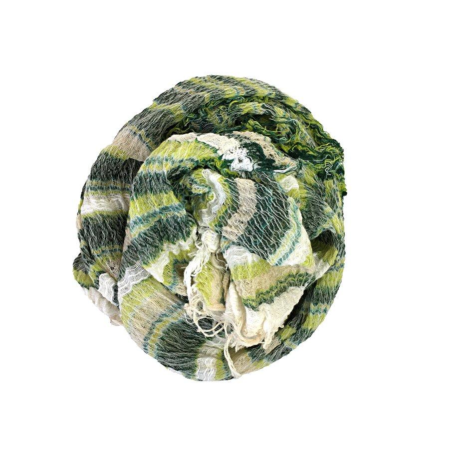 tamaki niime roots shawl  MIDDLE  cotton100% c