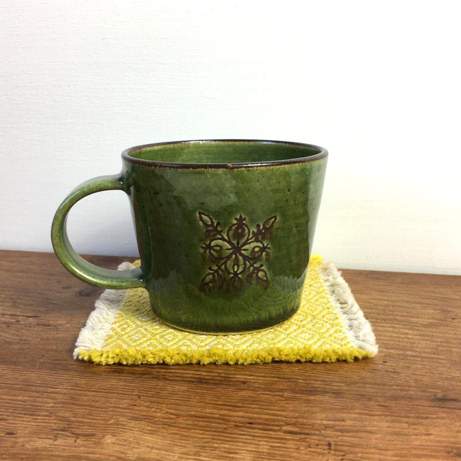 atelierBOKKO モチーフ マグカップ 緑