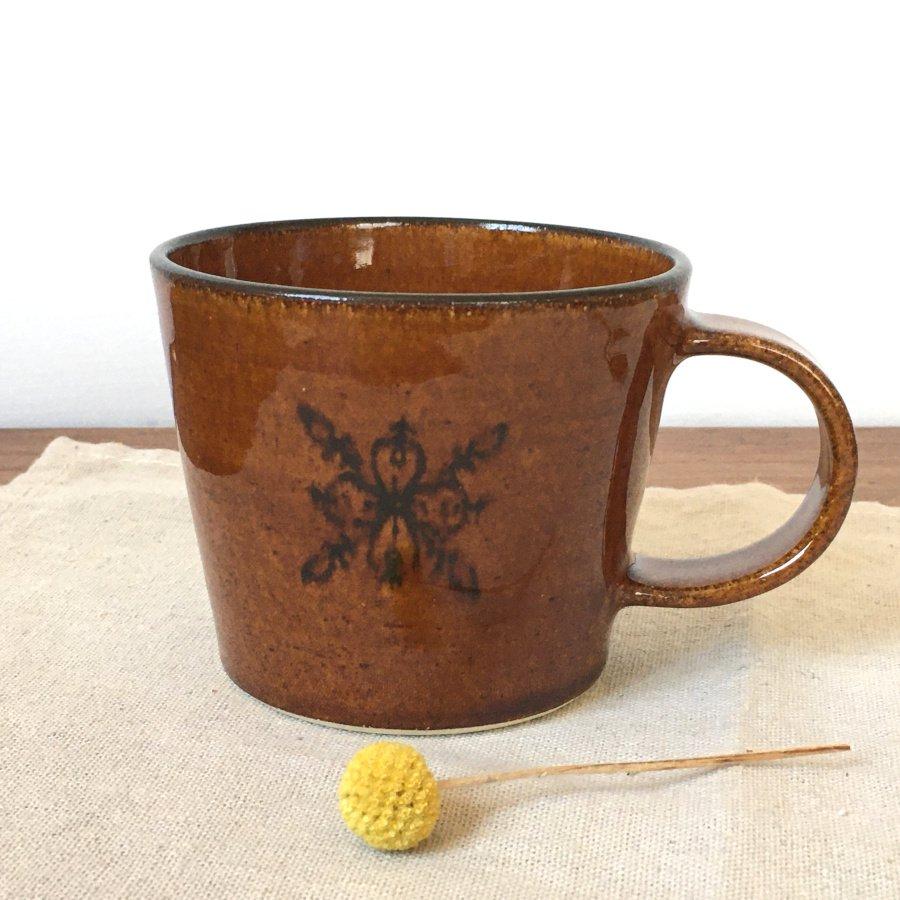 atelierBOKKO モチーフ マグカップ 茶