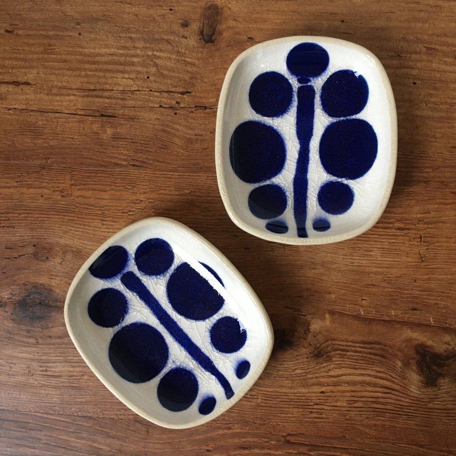 芦澤和洋 長方豆皿 青 6