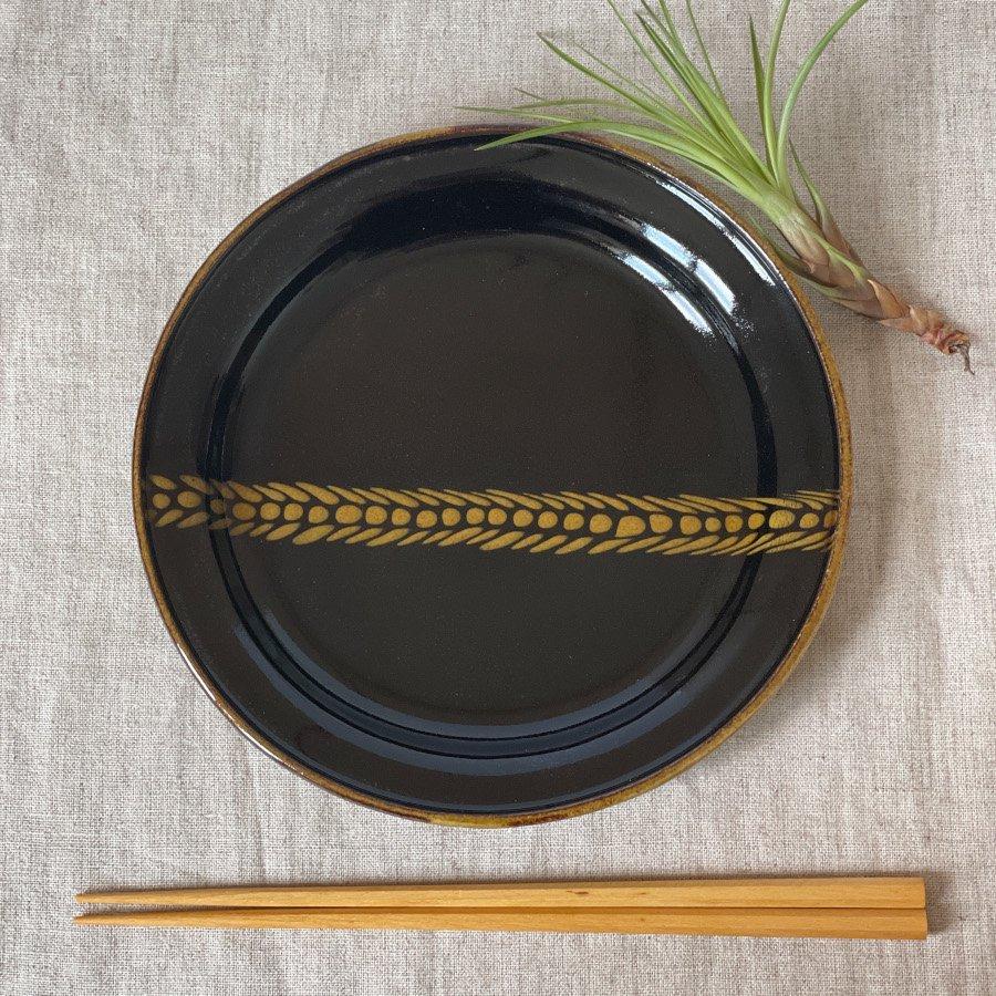 芦澤和洋 リム丸皿 M 2