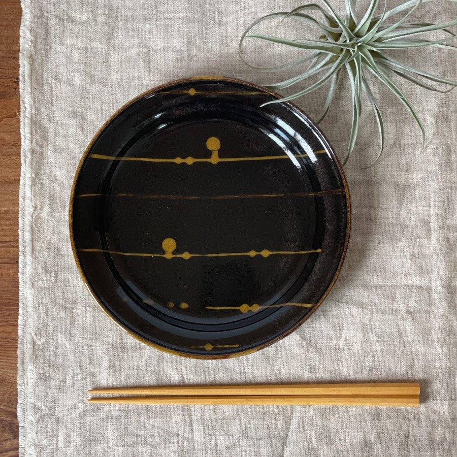 芦澤和洋 リム丸皿 M 3