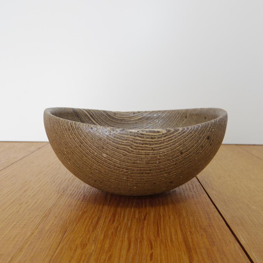 田鶴濱優香 まる鉢-やたら縞 (小)