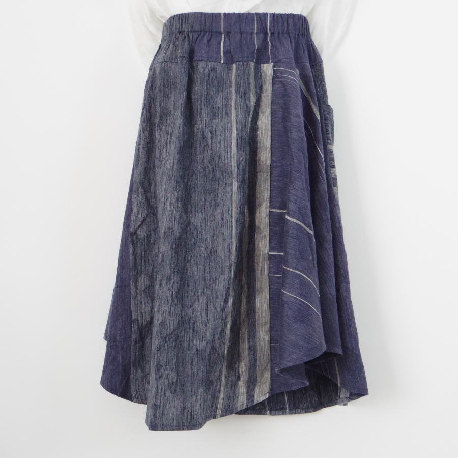 tamaki niime chotan skirt cotton100%