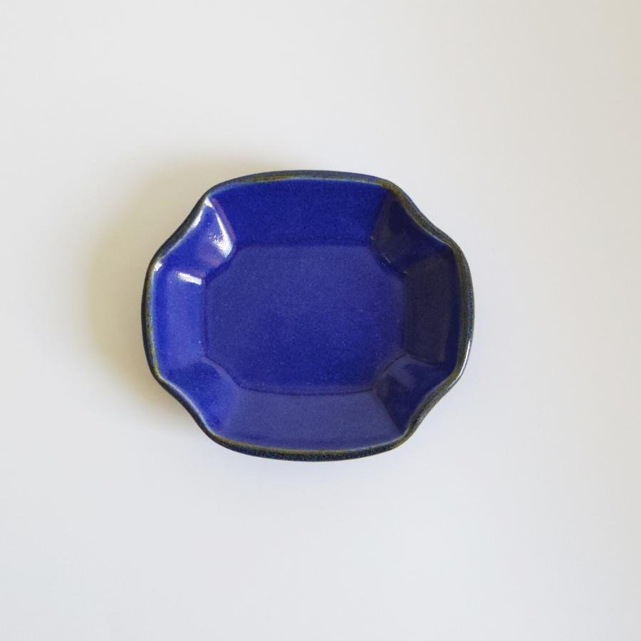 TULUSIWORKS 豆皿 角 藍色