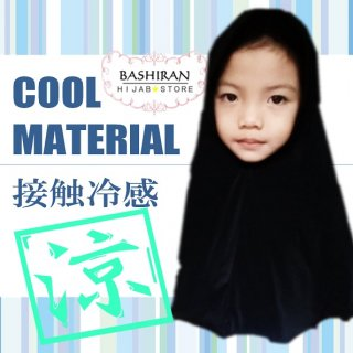 EASY HIJAB<BR>FOR GIRL</br>COOL MATERIAL</BR>接触冷感