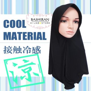 EASY HIJAB<BR>COOL MATERIAL</BR>接触冷感