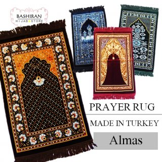 PRAYER RUG</BR>MADE IN TURKEY</BR>ALMAS