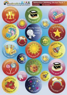 Behaviour</BR> (Aqhlaq/道徳)</BR> Sticker