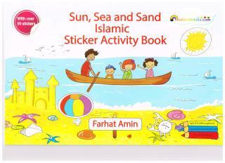 Sun Sea & Sand</br>Islamic Sticker </br>Activity Book</br>英語学習向け