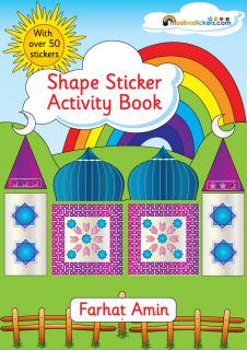 Shapes Sticker </br>Activity Book</br>シールブック