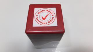 Mashallah </br>Excellent Effort </br>Stamp (red)