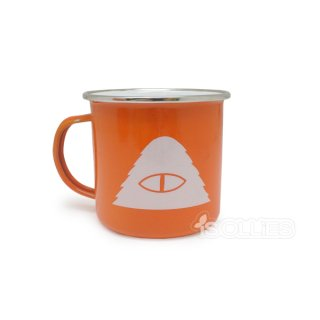 POLER SS16 CAMP MUG BURNT ORANGE