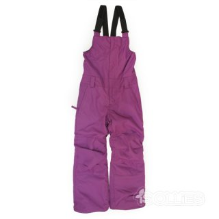 686 GIRL'S CORNICE INSULATED BIB MULBERRY