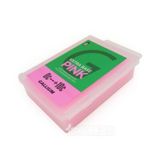 GALLIUM EXTRA BASE WAX PINK (100g)