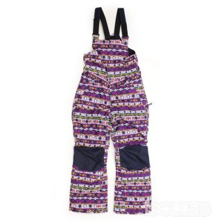 686 GIRL'S CORNICE INSULATED BIB NORDIC PRINT