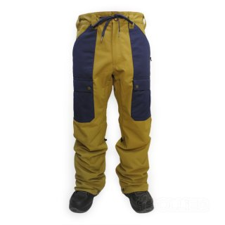 AIRBLASTER MEN'S FREEDOM CARGO PANT Puddle/Navy
