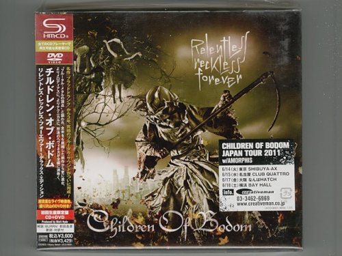 Relentless Reckless Forever/Children Of Bodom[Used CD][UICO-9051][CD+DVD][Digipak][1stPress][Sealed]