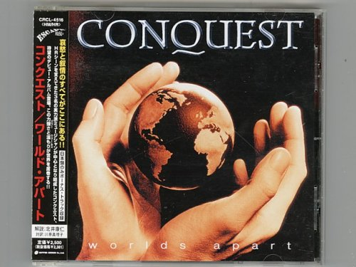 Worlds Apart / Conquest [Used CD] [CRCL-4516] [w/obi]