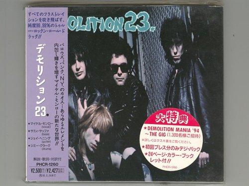 St / Demolition 23. [Used CD] [PHCR-1260] [Digipak] [1st Press] [w/obi]