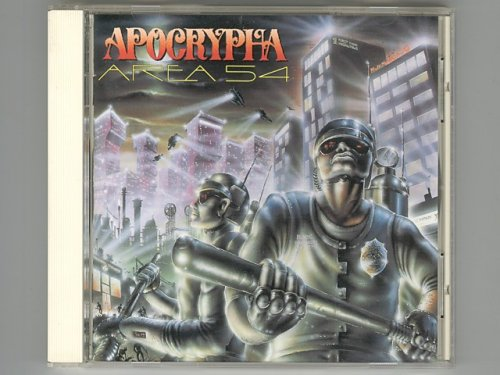 Area 54 / Apocrypha [Used CD] [APCY-8041]